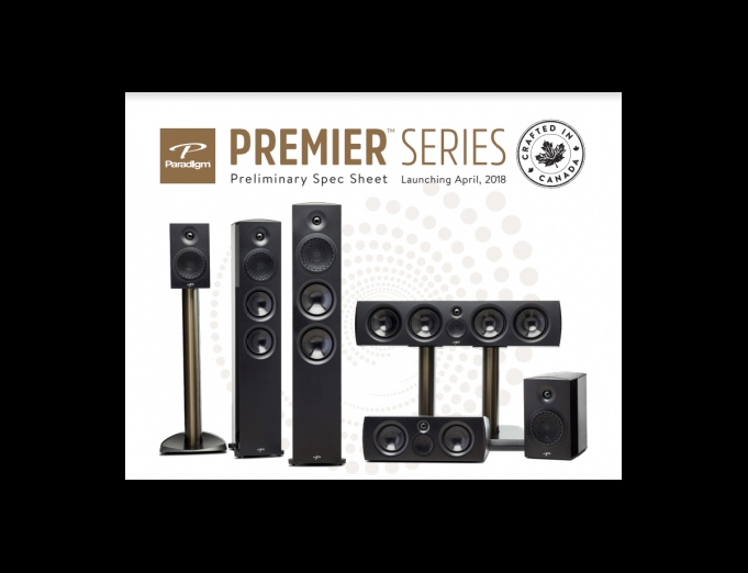 Paradigm Premier series: More outstanding reviews, and two more awards
