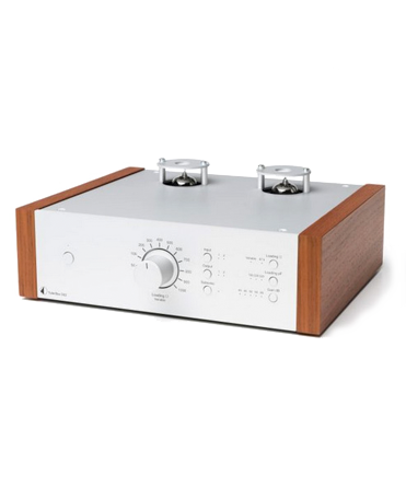 Tube Box DS (Silver-Walnut)