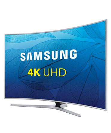 55″4K Curved Tizen Smart TV
